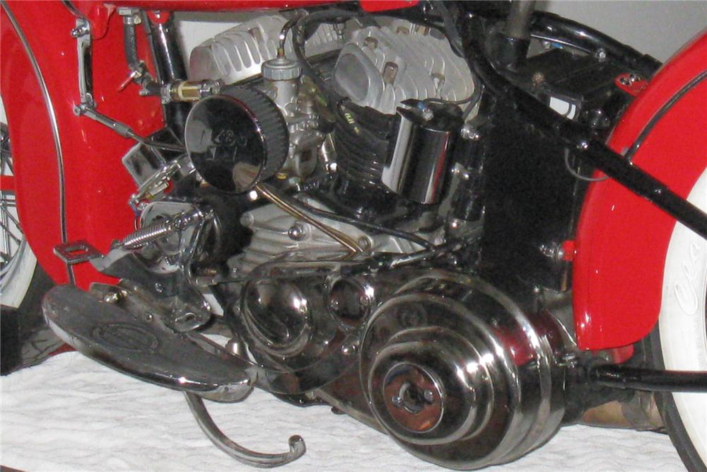 1956 HARLEY-DAVIDSON MOTORCYCLE - Engine - 133084