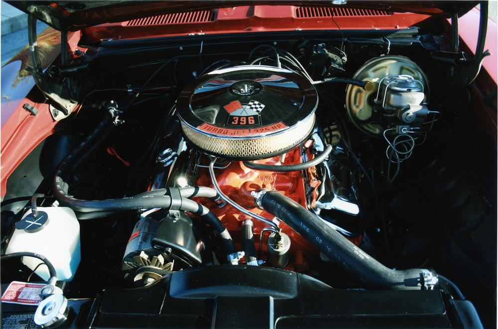 1969 CHEVROLET CAMARO RS/SS COUPE - Engine - 133085
