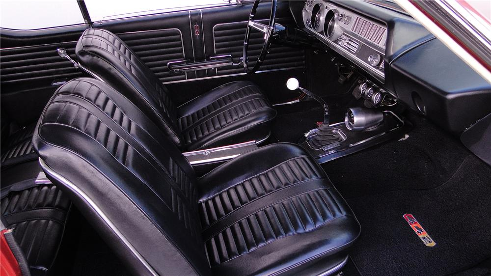 1966 OLDSMOBILE 442 2 DOOR HARDTOP - Interior - 133106