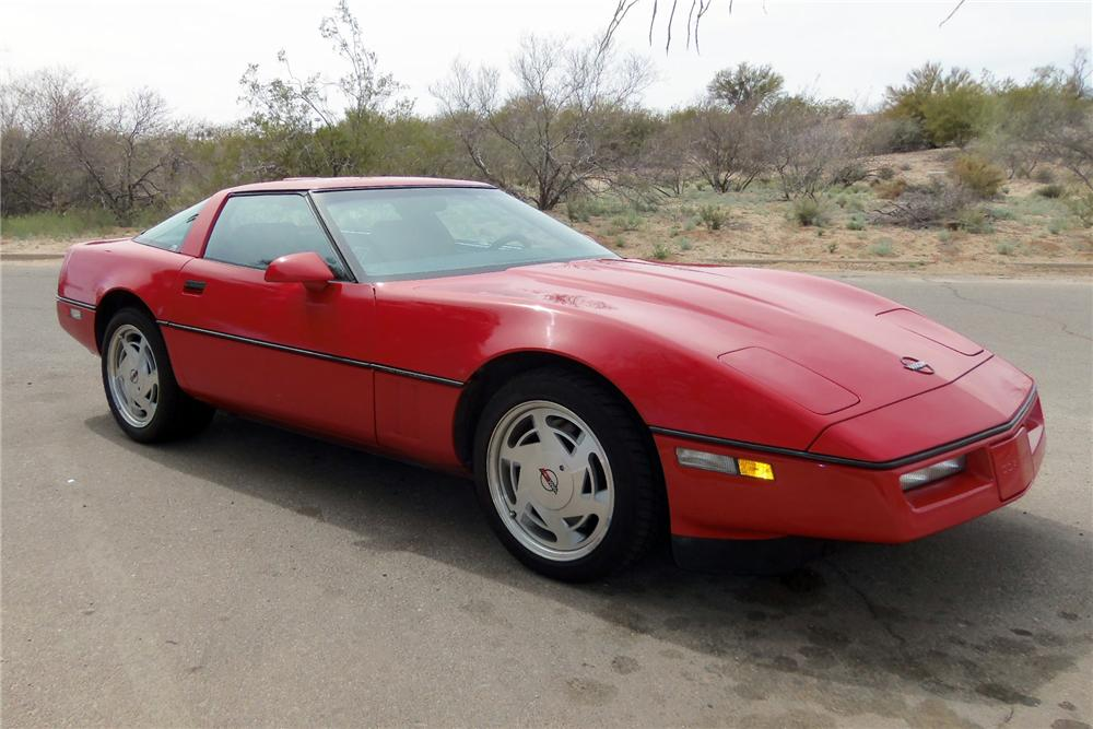 1989 CHEVROLET CORVETTE 2 DOOR COUPE - Front 3/4 - 133130