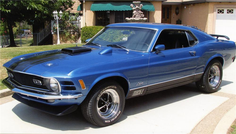 1970 Ford Mustang Mach 1 Fastback Sale