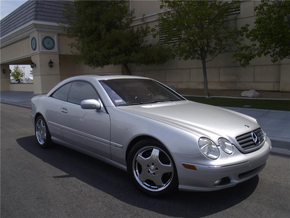 2001 MERCEDES-BENZ CL600 2 DOOR COUPE - Front 3/4 - 133140