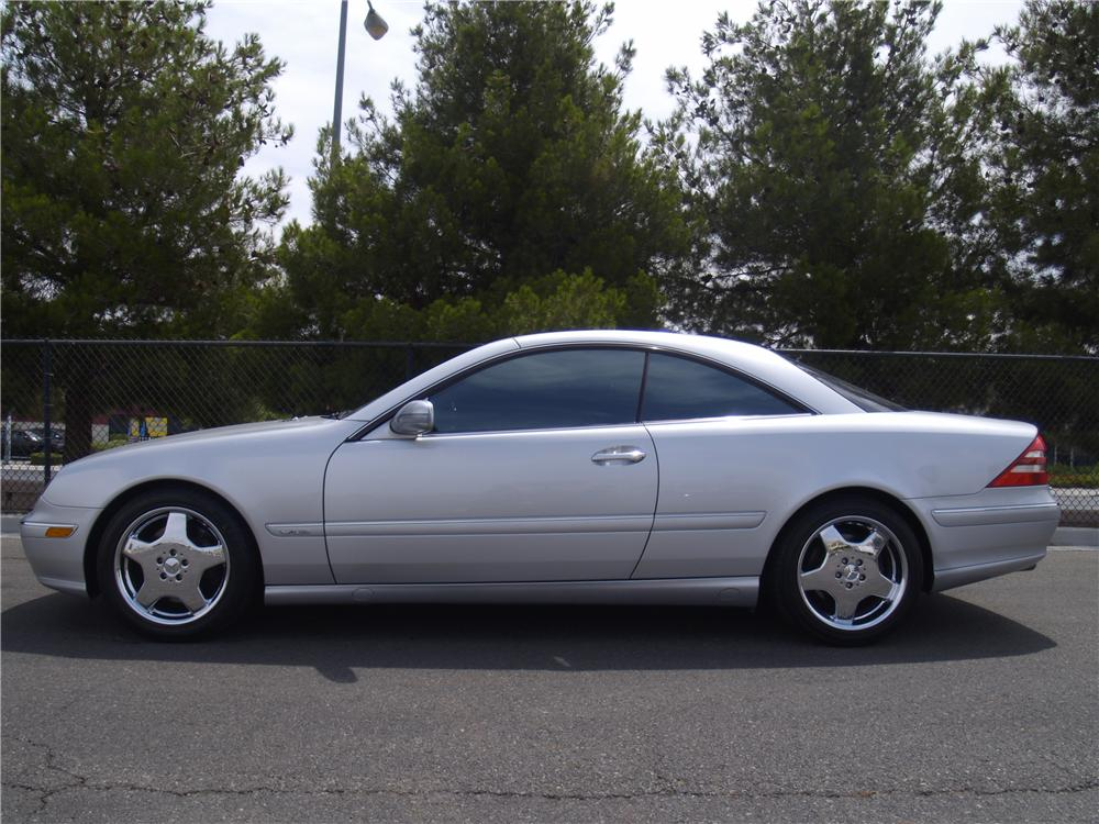 2001 MERCEDES-BENZ CL600 2 DOOR COUPE - Side Profile - 133140