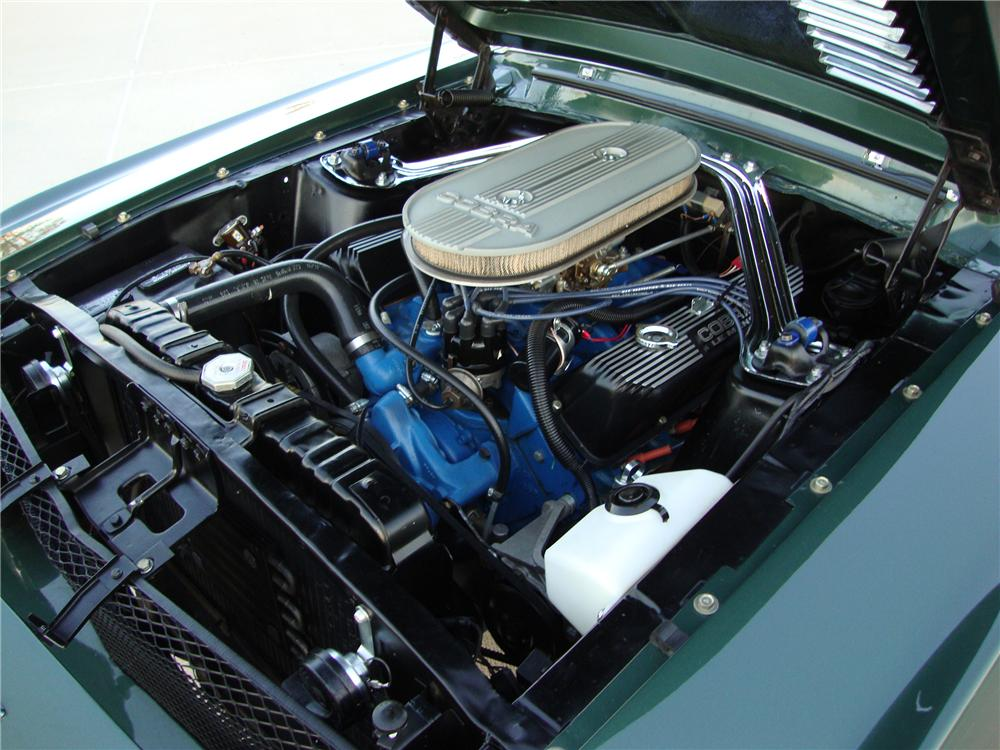 1968 FORD MUSTANG CUSTOM CONVERTIBLE - Engine - 133146