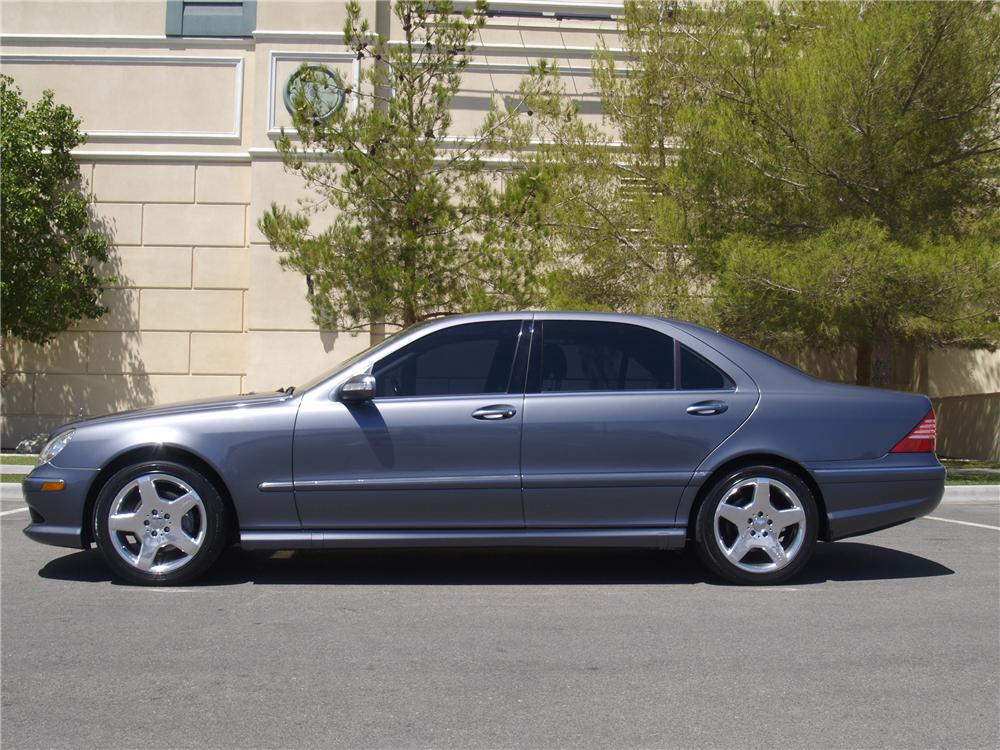 2005 mercedes benz s430 4 door sedan 133148