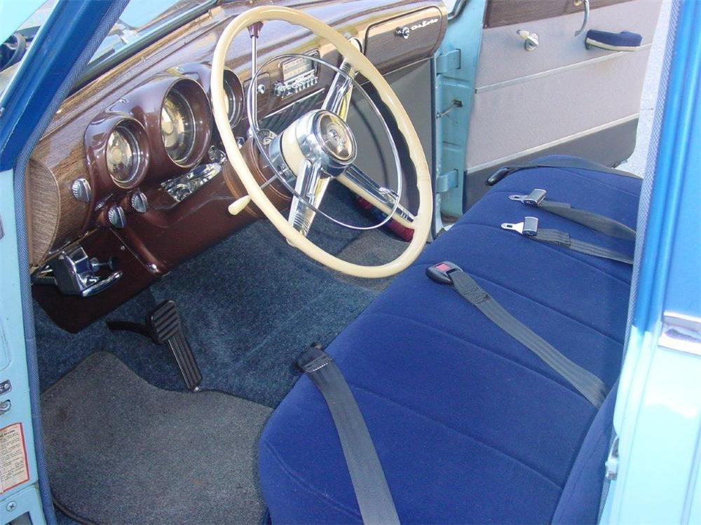 1952 DE SOTO CUSTOM 4 DOOR SEDAN - Interior - 133150