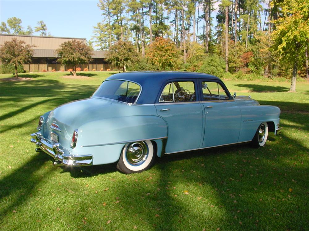 1952 DE SOTO CUSTOM 4 DOOR SEDAN - Rear 3/4 - 133150