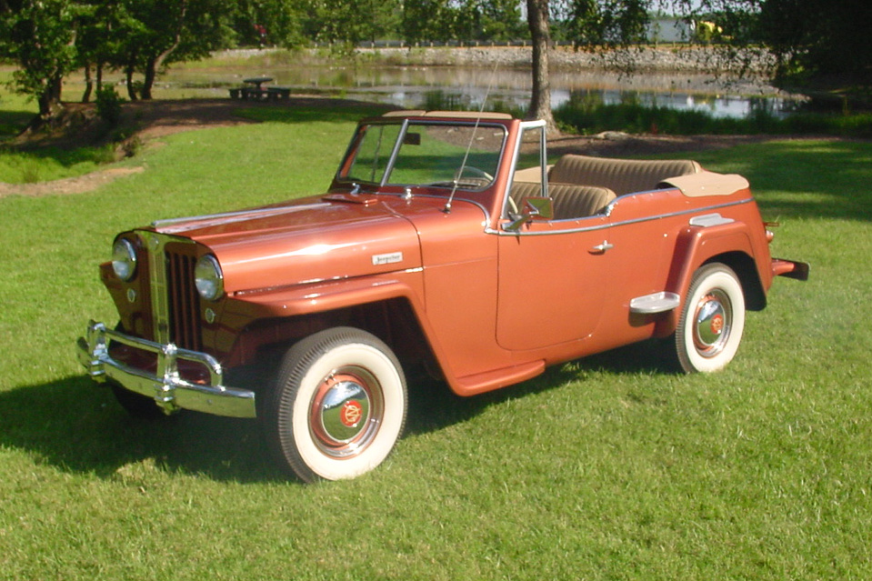 1949 WILLYS JEEPSTER CONVERTIBLE - Front 3/4 - 133151