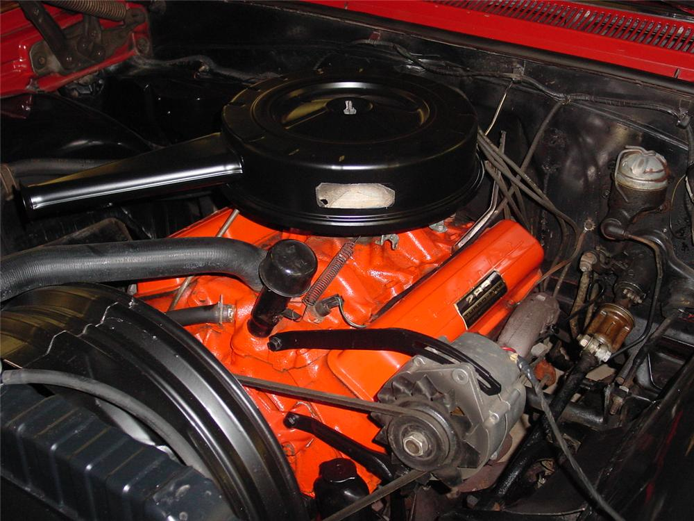 1964 CHEVROLET IMPALA 2 DOOR COUPE - Engine - 133155