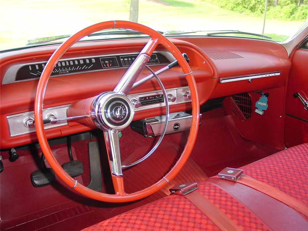 1964 CHEVROLET IMPALA 2 DOOR COUPE - Interior - 133155