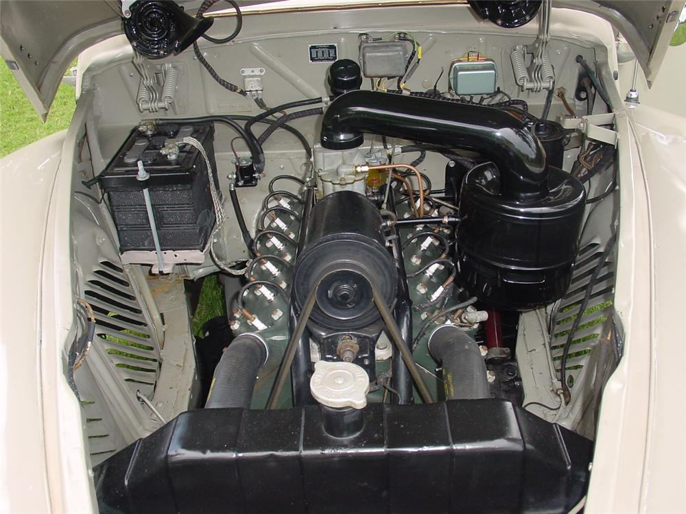 1948 LINCOLN CONTINENTAL CONVERTIBLE - Engine - 133156