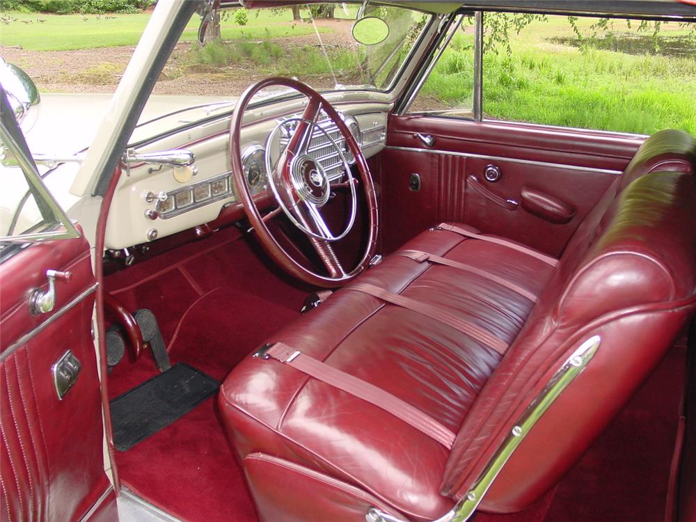 1948 LINCOLN CONTINENTAL CONVERTIBLE - Interior - 133156