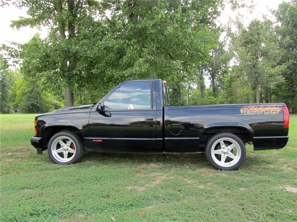Chevy Silverado Custom Wheels >> 1990 CHEVROLET 454SS PICKUP - 133159