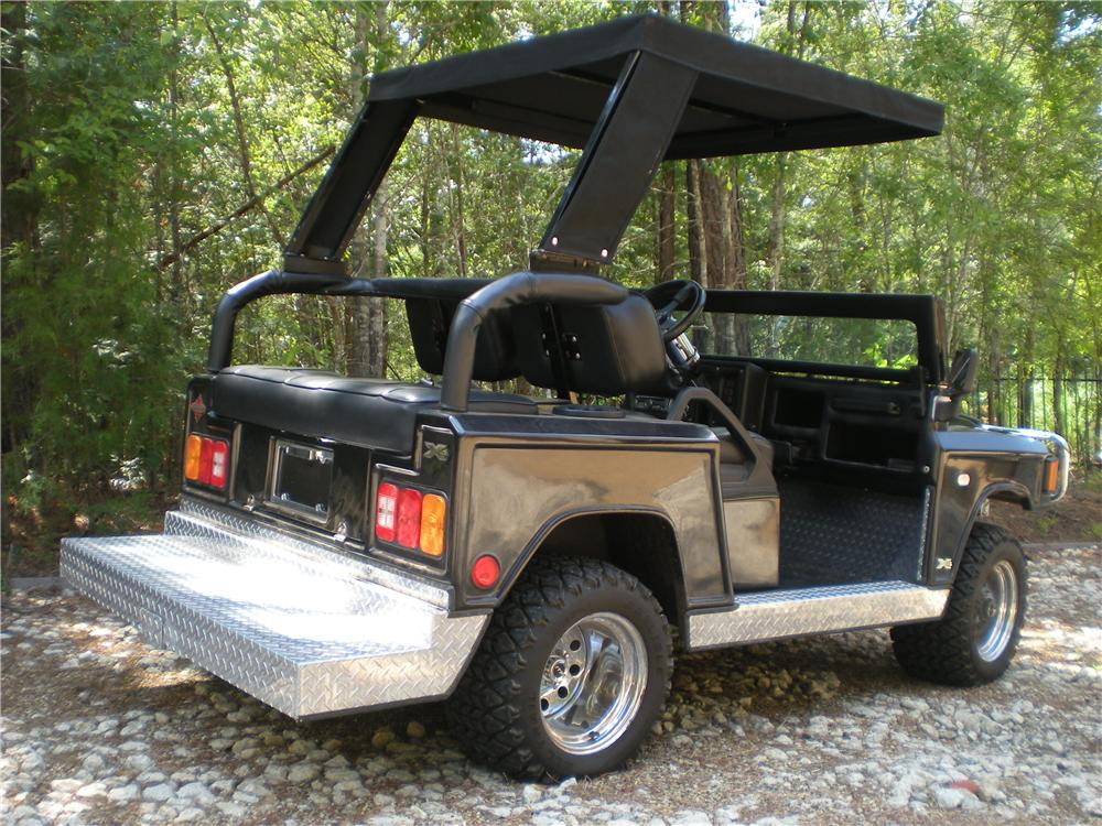2004 CUSTOM BUILT HUMMER GOLF CART - Rear 3/4 - 133170
