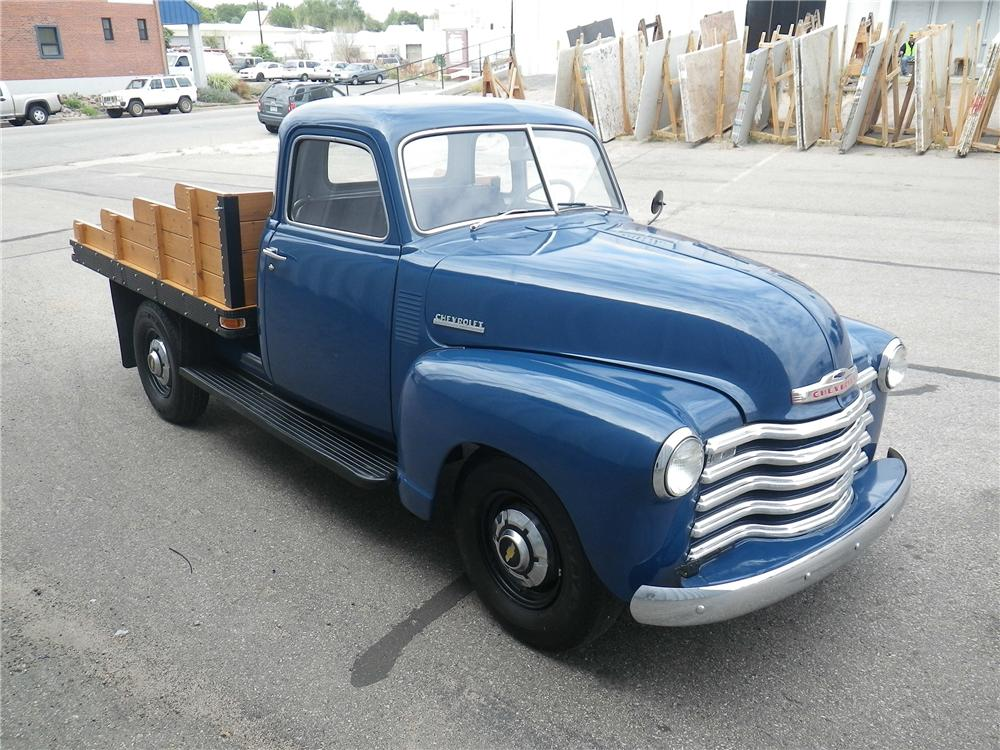 1948 CHEVROLET 5 WINDOW PICKUP - Front 3/4 - 133173