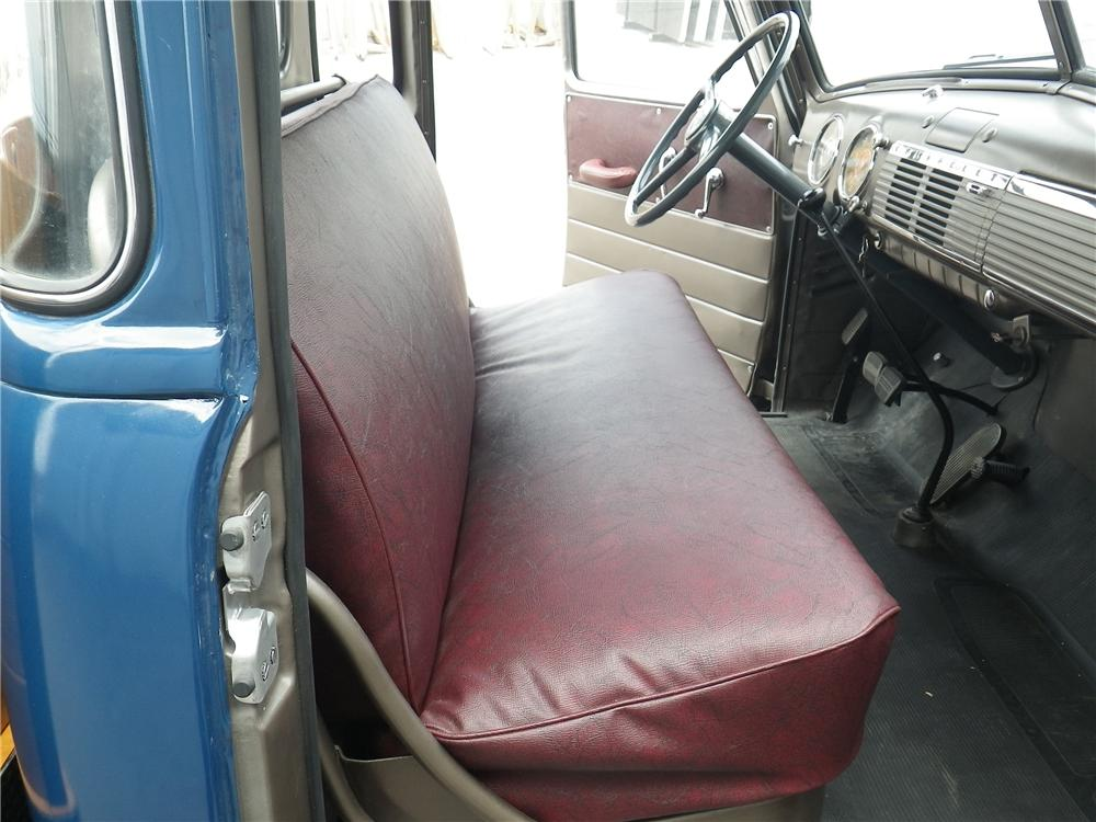 1948 CHEVROLET 5 WINDOW PICKUP - Interior - 133173