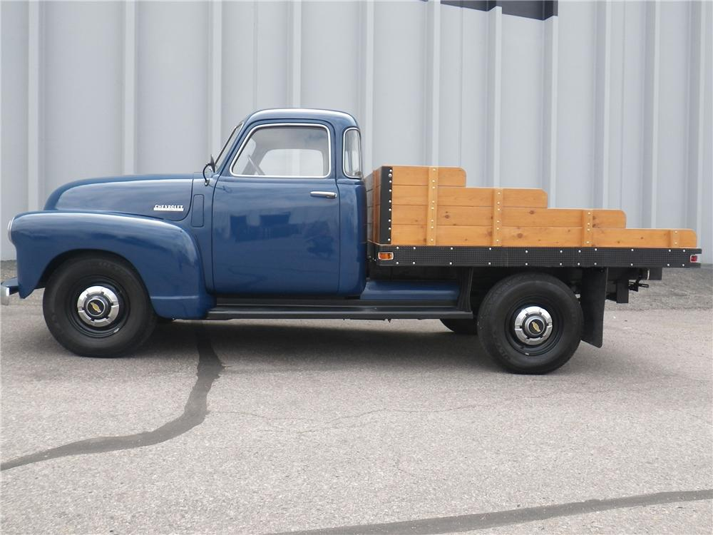 1948 CHEVROLET 5 WINDOW PICKUP - Side Profile - 133173