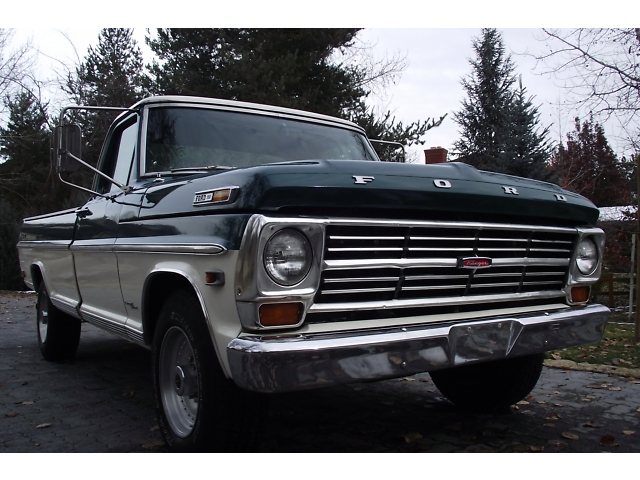 1968 FORD F-250 PICKUP - Front 3/4 - 133175
