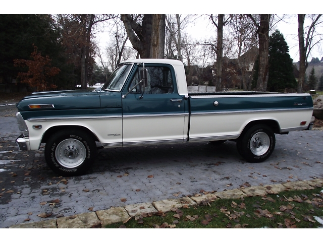 1968 FORD F-250 PICKUP - Side Profile - 133175