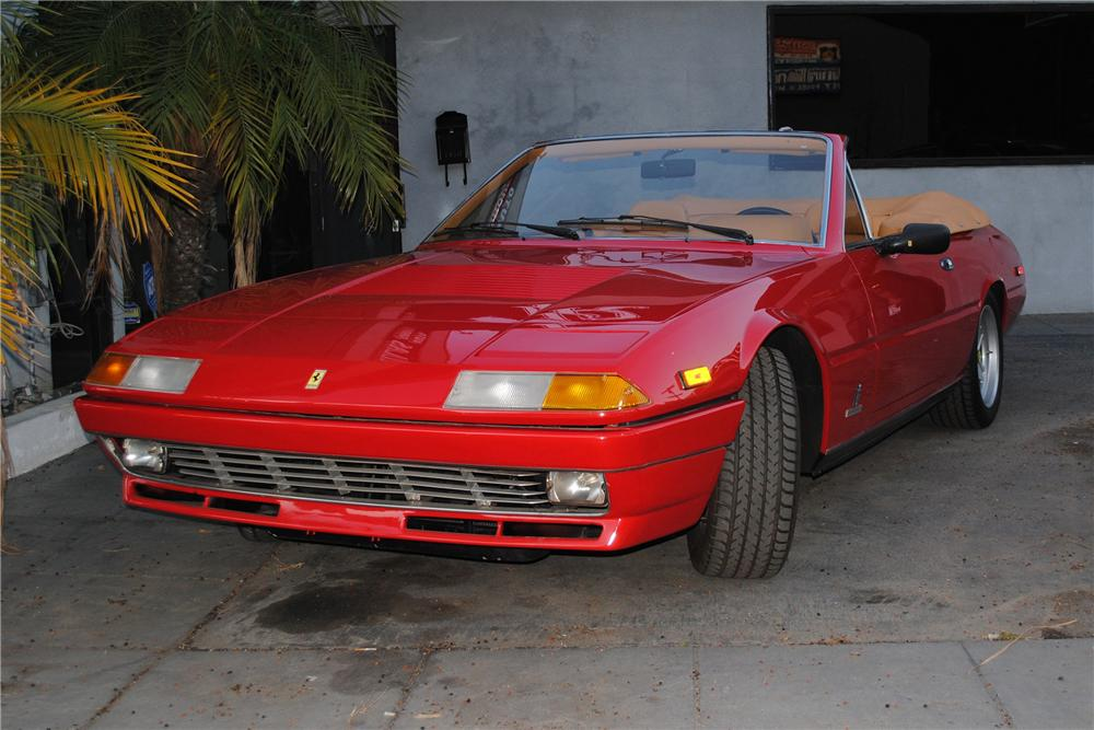 1984 FERRARI 400I CONVERTIBLE CONVERSION - Front 3/4 - 133177