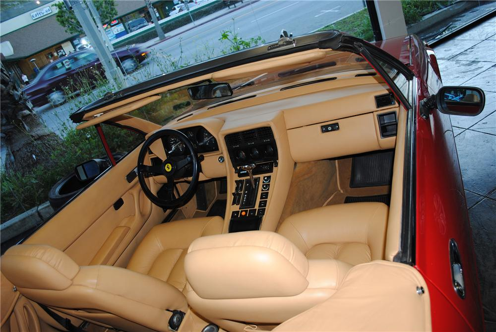 1984 FERRARI 400I CONVERTIBLE CONVERSION - Interior - 133177