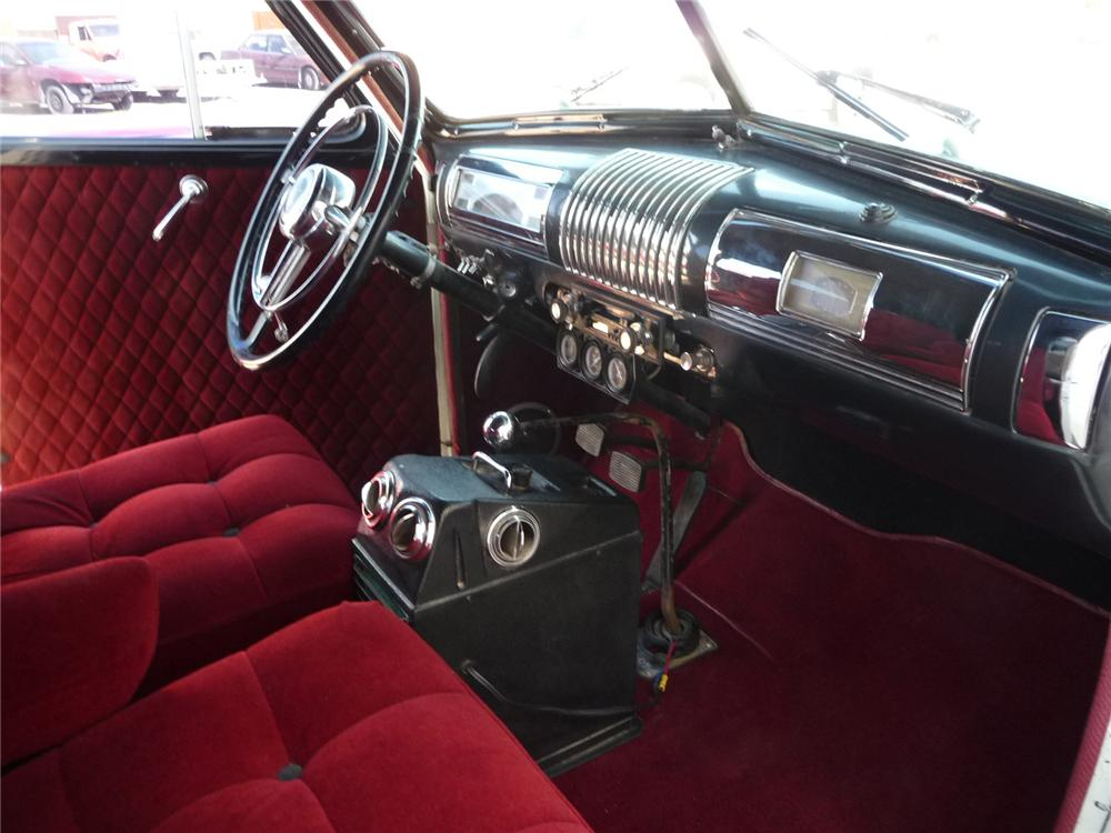1939 BUICK SPECIAL 4 DOOR SEDAN - Interior - 133189