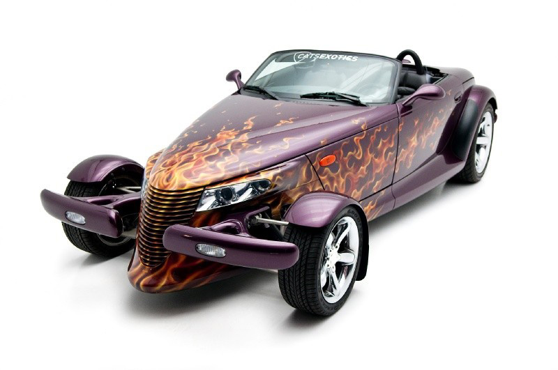 1999 PLYMOUTH PROWLER CONVERTIBLE - Front 3/4 - 133190