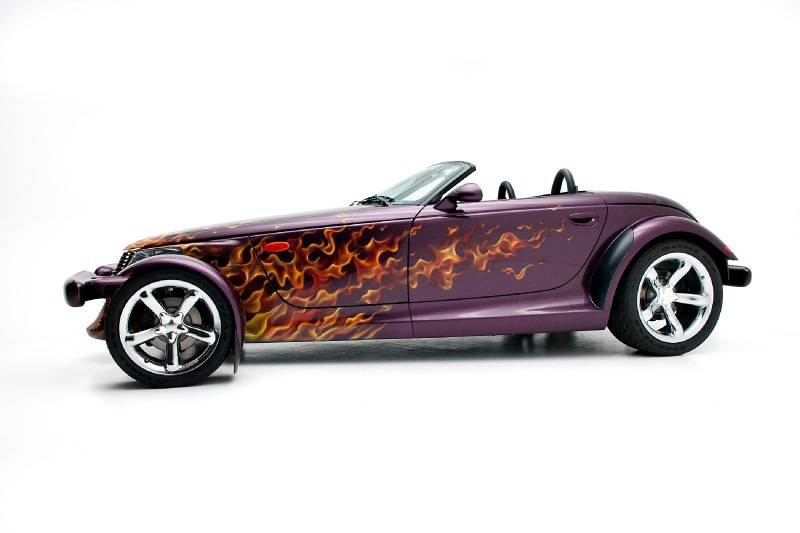 1999 PLYMOUTH PROWLER CONVERTIBLE - Side Profile - 133190
