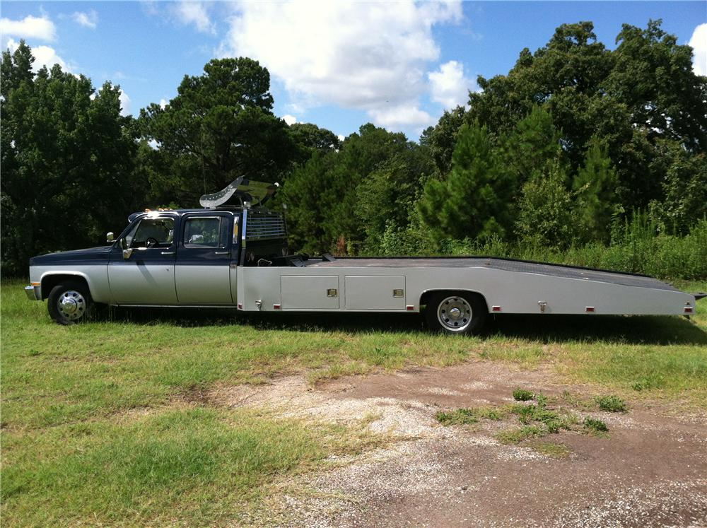 1990 CHEVROLET CUSTOM CAR HAULER - Side Profile - 133192