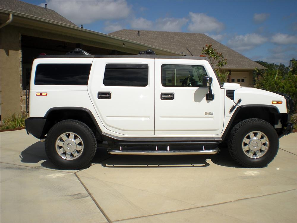 2003 HUMMER H2 SUV - Side Profile - 133194