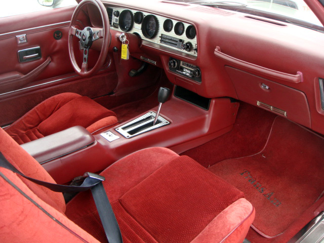 1979 PONTIAC FIREBIRD TRANS AM 2 DOOR COUPE - Interior - 133211