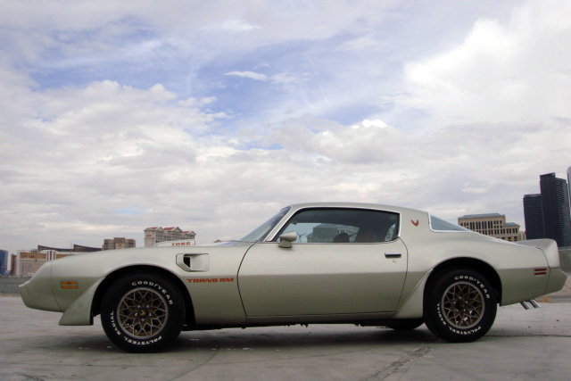1979 PONTIAC FIREBIRD TRANS AM 2 DOOR COUPE - Side Profile - 133211