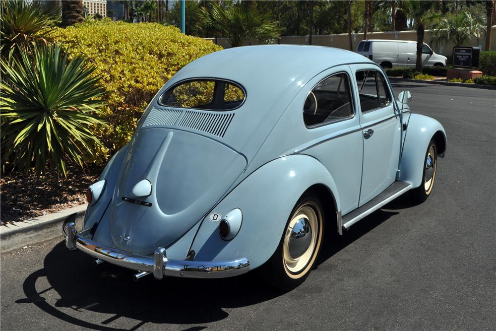 1957 volkswagen beetle oval window sedan 133212