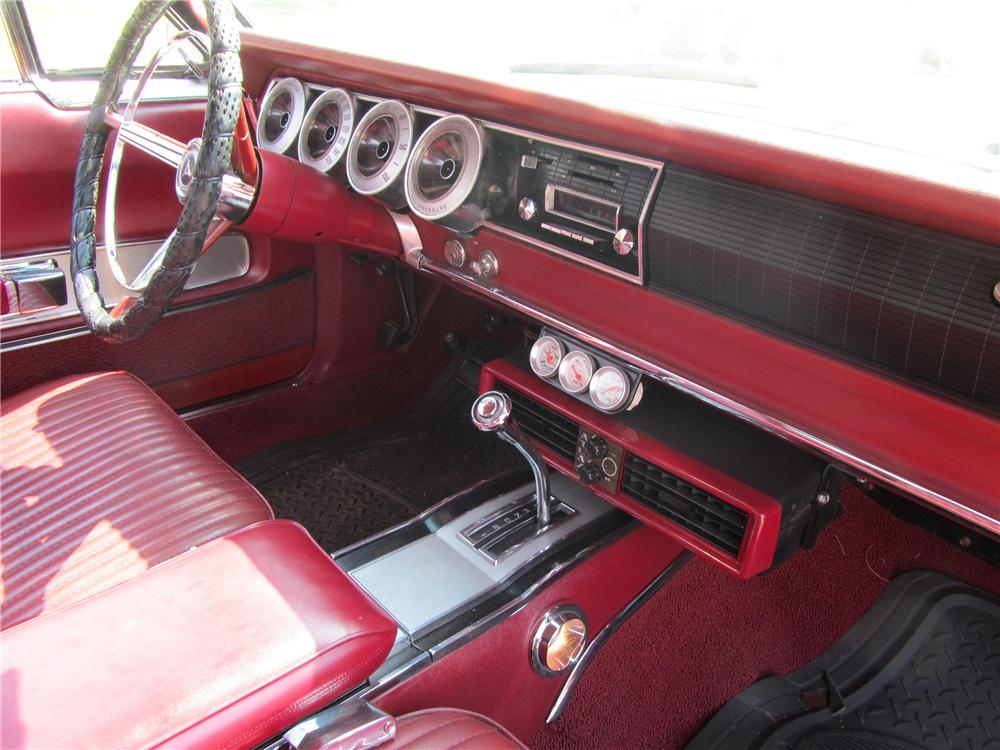 1967 DODGE CHARGER 2 DOOR HARDTOP - Interior - 133215