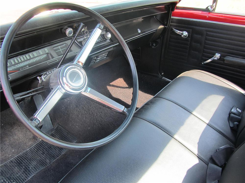 1967 CHEVROLET EL CAMINO PICKUP - Interior - 133216