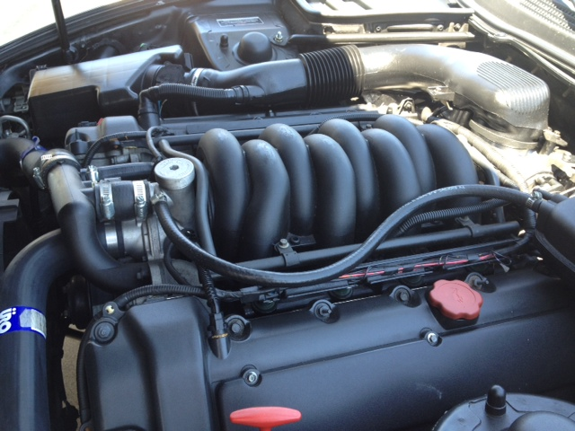 1999 JAGUAR XK8 CONVERTIBLE - Engine - 133225