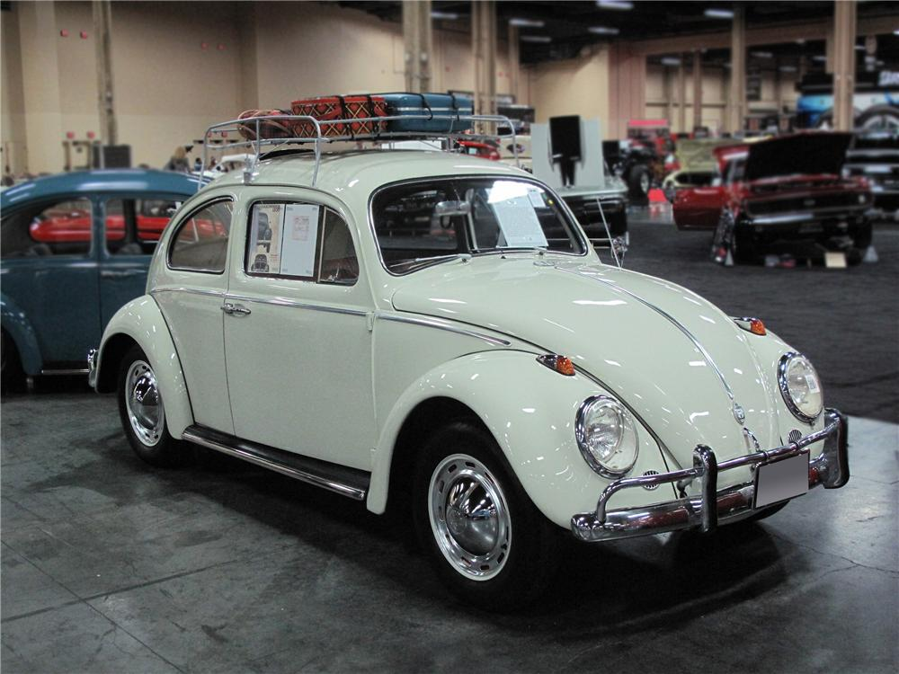 1963 VOLKSWAGEN TYPE I SEDAN - Front 3/4 - 133490