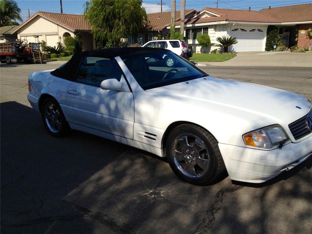 1999 MERCEDES-BENZ 500SL CONVERTIBLE - Front 3/4 - 133496