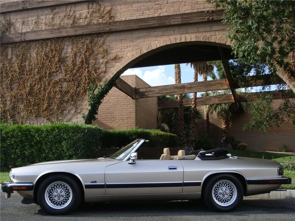 1992 JAGUAR XJS CONVERTIBLE - Side Profile - 133497