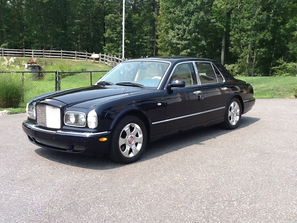 2000 BENTLEY ARNAGE RED LABEL 4 DOOR SEDAN - Front 3/4 - 133507