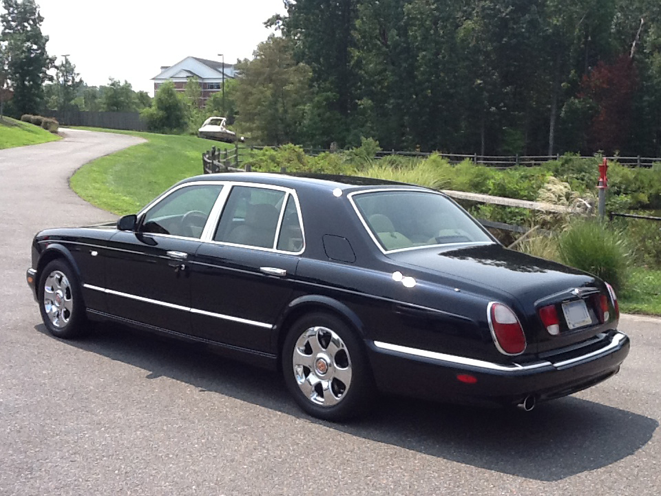 2000 bentley arnage red label 4 door sedan 133507. Black Bedroom Furniture Sets. Home Design Ideas