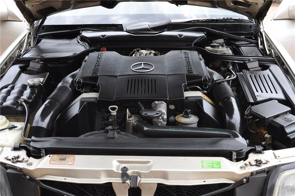 1992 MERCEDES-BENZ 500SL CONVERTIBLE - Engine - 133510
