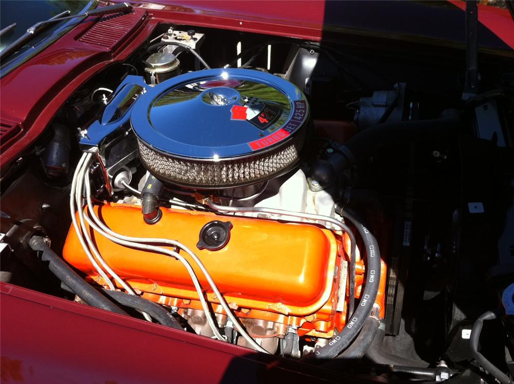 1966 CHEVROLET CORVETTE CONVERTIBLE - Engine - 133516