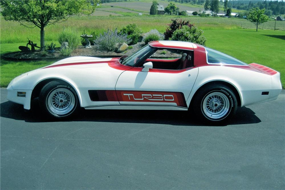 1980 chevrolet corvette 2 door coupe   133527