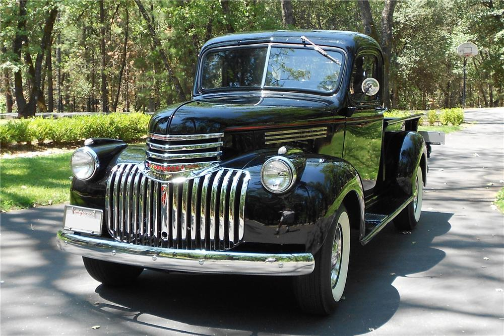 1946 CHEVROLET 3100 PICKUP - Front 3/4 - 133535
