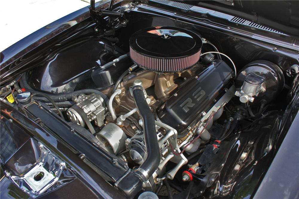 1967 CHEVROLET CAMARO RS CUSTOM CONVERTIBLE - Engine - 133536