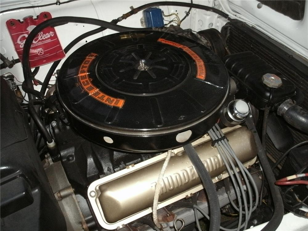 1959 FORD THUNDERBIRD 2 DOOR HARDTOP - Engine - 133537