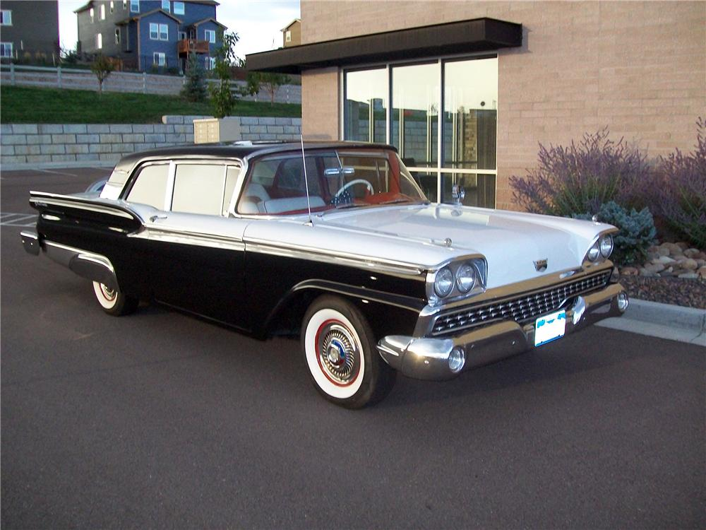 1959 ford galaxie 2 door hardtop 133538. Black Bedroom Furniture Sets. Home Design Ideas