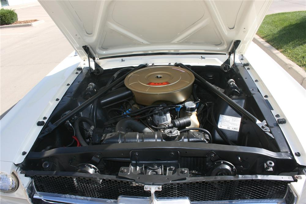 1965 FORD MUSTANG CONVERTIBLE - Engine - 133540