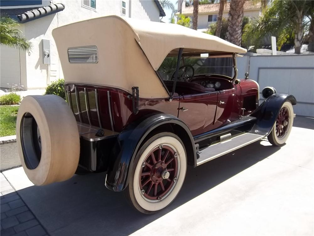 1923 BUICK 4 DOOR TOURING CONVERTIBLE - Rear 3/4 - 133543
